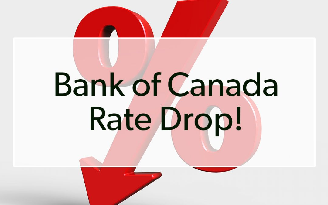 Breaking News: Bank of Canada drops key rate another 50 basis points