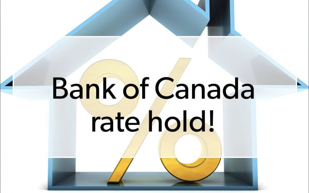 Bank of Canada Rate Hold